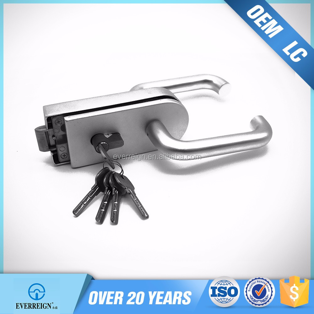 MP9-D3 modern aluminum glass sliding door lock