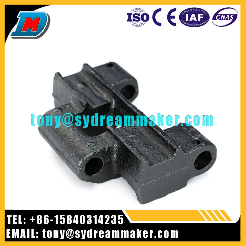China manufacturing high value construction machinery crawler tread