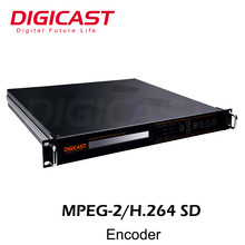 DMB-9820 8-Channel MPEG-2/H.264 SD Encoder ultra-low latency lower resolution 8*SDI or CVBS input ASI and TSoIP output