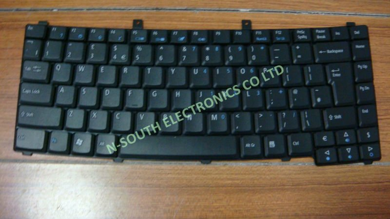 US Laptop Keyboard for Acer TravelMate 2200 2400 2450 2490 2700