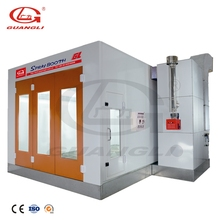 GuangLi New Design Car Auto Water Base Painting Booth/Paint Spray Booth