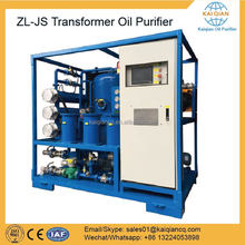 Double Stage Transformer Oil Recovering Machine