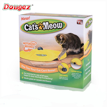 hot selling electronic cat toy 4 model as seen on tv Cat's Meow/Undercover Mouse Cat Toy