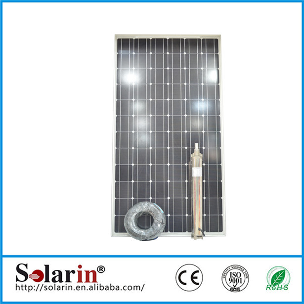 Own factory,home use 6w small high pressure 3cylinders piston solar water pump