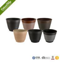Round Shape plastic plant decoration &New Mould