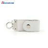 High Quality New Design Keychain Shape Leather USB Flash Drive