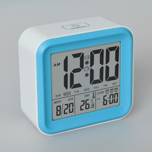 High Quatily Touch Contral LCD Digital Alarm Clock With 3 Groups Of Alarm