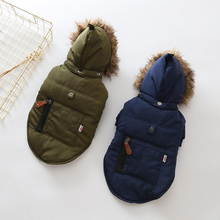 Luxury Winter Dog Down Coats Pet Jackets