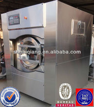 Commercial washing machine/microcomputer-controlled cleaning equipment