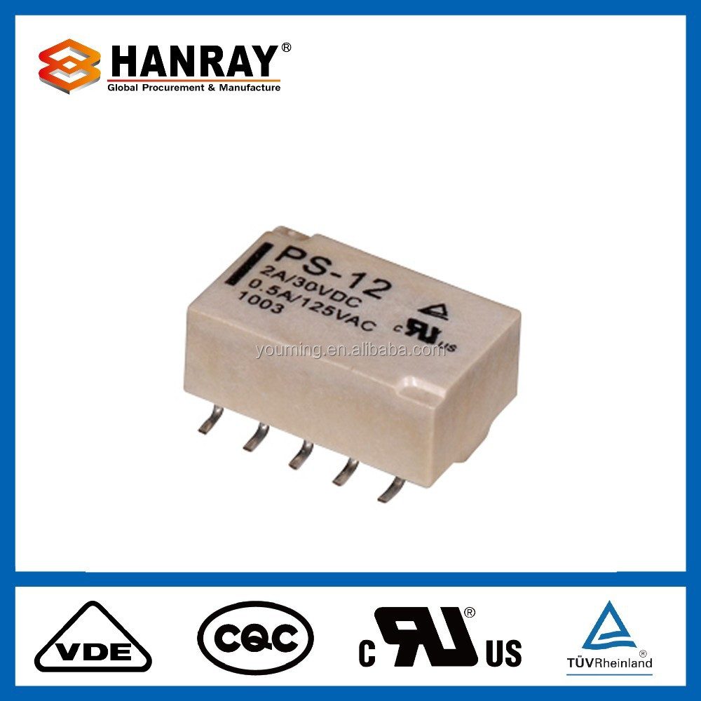 PS smd latching relay/ smt relay/ smd relay
