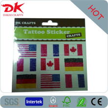 countries flag tattoo for world cup celebration custom temporary tattoo
