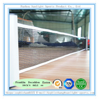 low cost adjustable length table tennis net, ping pong net with retractable function