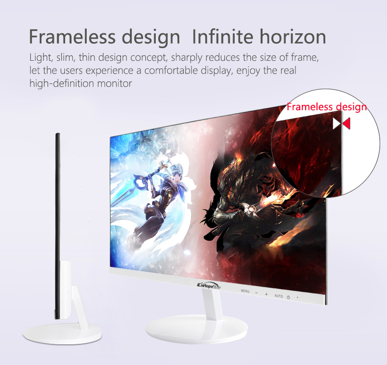 New fashion 24inch Desktop full hd gaming computer led monitor  144hz 1ms