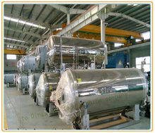 couter pressure sterilizer for can //horizontal steamer sterilizer//food boiling pressure vessel
