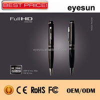 1080P, support HDMI out, with PC camera function detective camera in pen