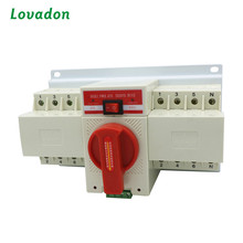 220V 400V AC 63A 2P 3P 4P Single Phase ATS Fail-safe Dual Power Automatic Transfer Switch For Generator