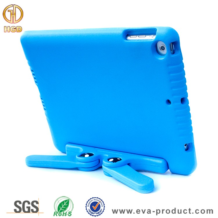 10 inch tablet pc silicone case for kids for ipad air with kickstand