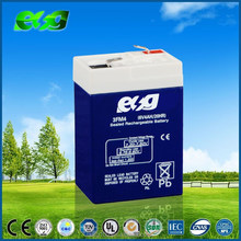 Rechargeable Battery 6v 4.5ah ups battery