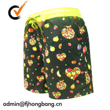clothes hot fashion cheap boys short of polyester/spandex material