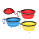 Speedypet Personalized Foldable Silicone Collapsible Dog Bowl