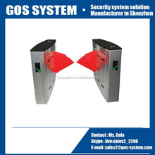 China supplier news security gate for patio doors automatic flap turnstile