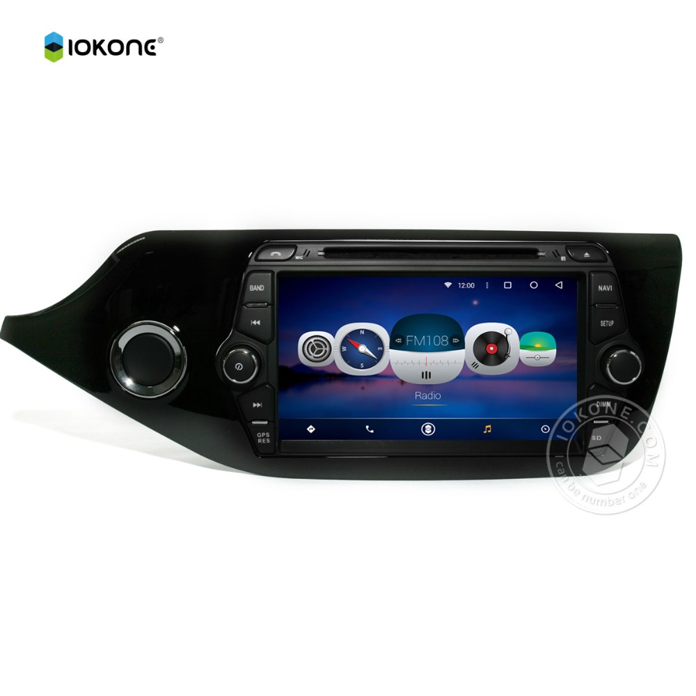 5.1 android audio sources for KIA CEED 2012 touch screen support BT,SWC