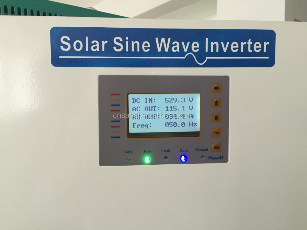 solar off-grid inverter 60kw power inverter with isolation transformer