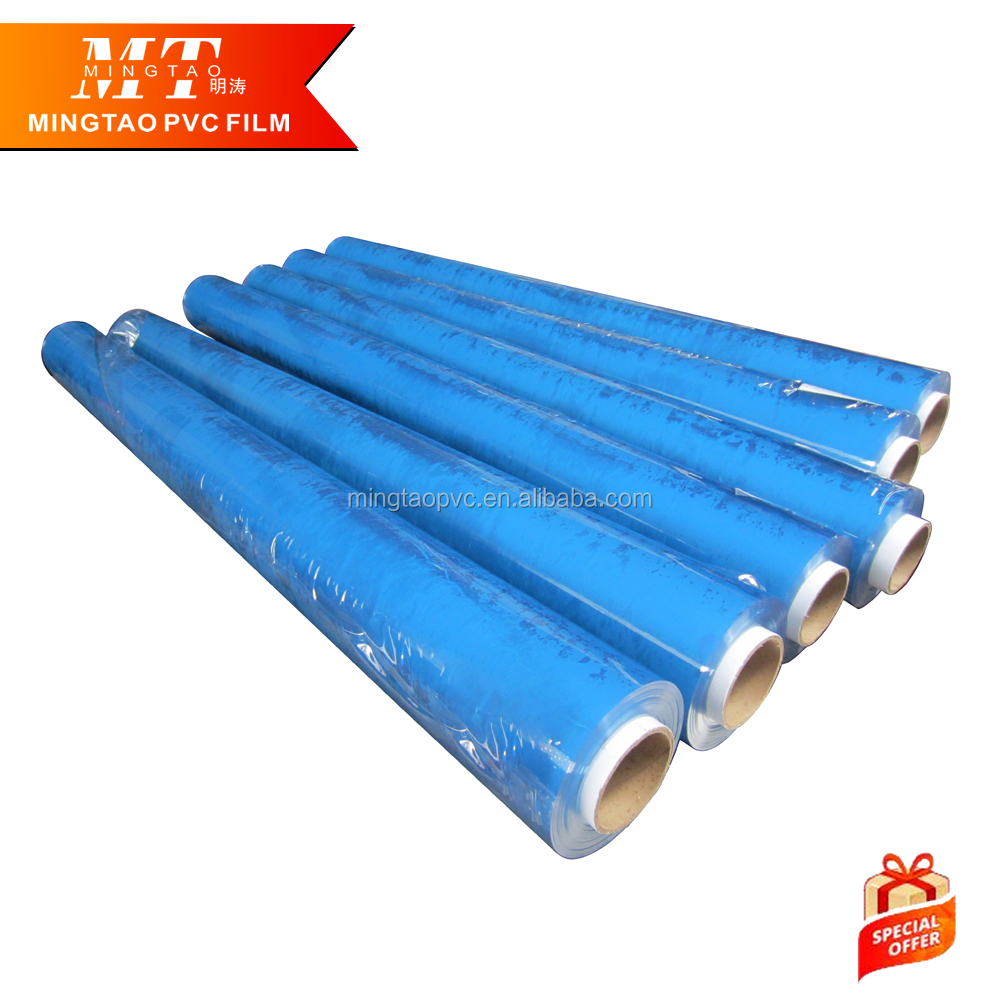 china suppliers pvc Transparent 0.5mm white self adhesive pvc super clear soft <strong>film</strong>