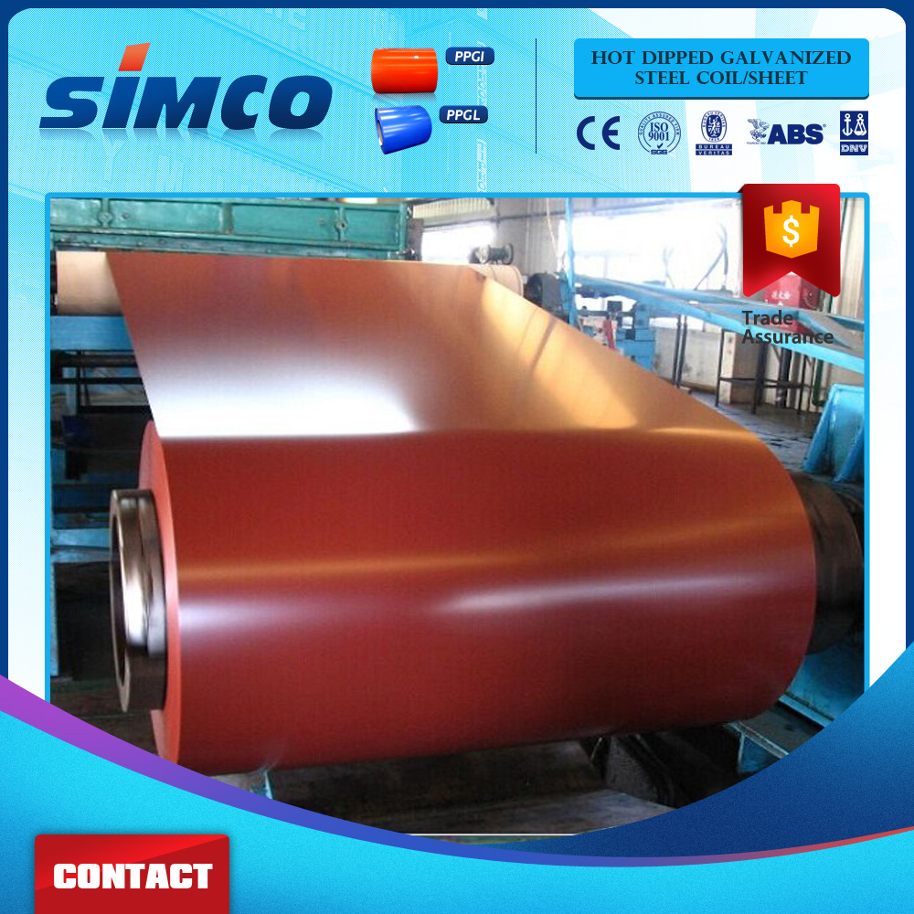 China top ten selling products ppgi/prepainted galvanized steel coil