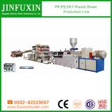 plastic sheet making machine /pp,ps,pet plastic sheet production line