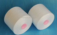20/3 raw white spun polyester yarn for sewing