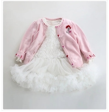 China Clothes Factory Autumn Winter Baby Girl Skirts Children Frocks Designs Princess Kids Fashion Birthday Dress