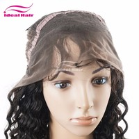 Top quality natural color cheap remy lovely hair wig with cute bang