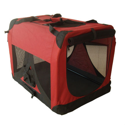 Pet Soft Crate, Foldable Dog Carrier