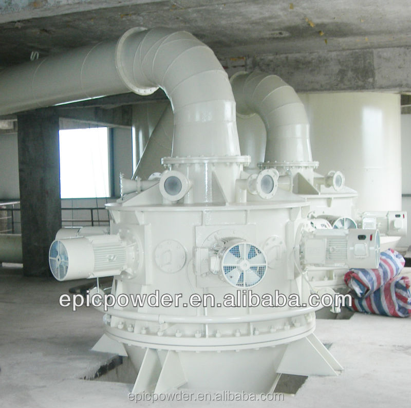 High Efficiency Limestone Powder grinding machine /Fine Caco3 Powder Project