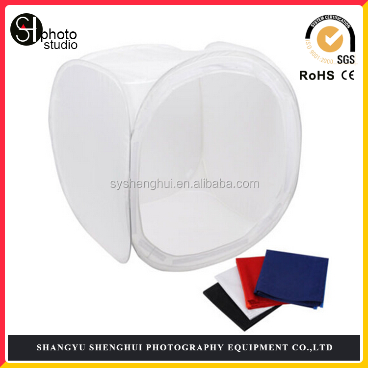 cube 80cm New photo soft box light tent - 4 COLOUR