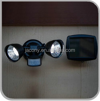 36 Led Twin Head Solar Powered wall lighting outdoor(JL-3527)
