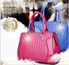 2015 Autumn Winter HOT Selling Latest PU Leather Bag,Luxury crocodile High Quality Lady Travel bags from China