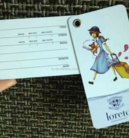 fun and cute luggage tags (M-PT003)