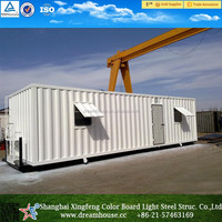40ft office container home/cheap shipping container house for sale