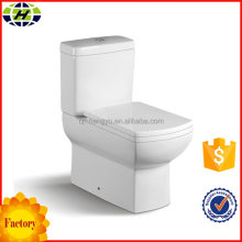 bathroom fittings ceramic sanitary ware two piece toilet factory
