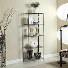 XM_214I 5 Tier free samples adjustable closet wire shelving unit