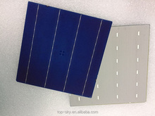Most competitive price high efficiency good quality 156*156 4BB solar cells 6x6 inch for solar panels