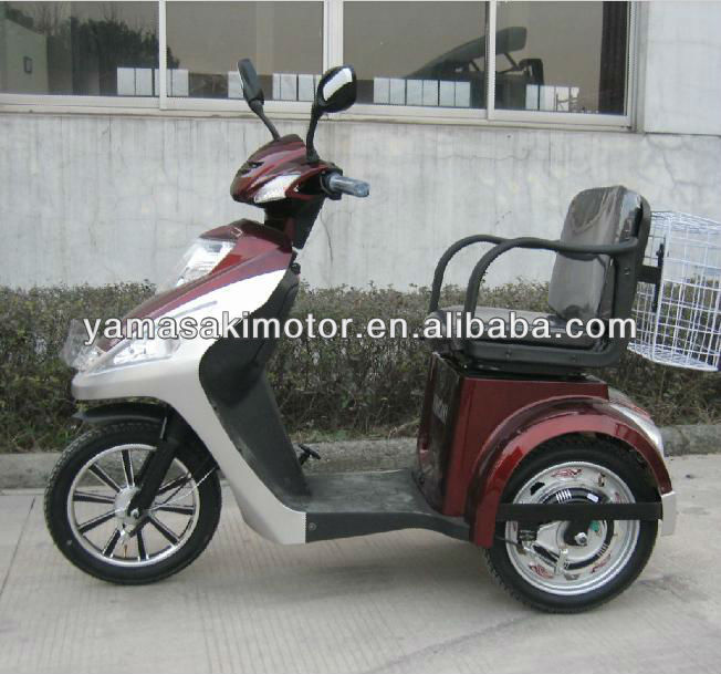 electric three wheels moped