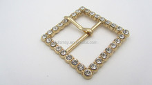 Fashion Square Rhinestone Decoration Different Styles Of Belt Buckles