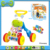 plastic musical learning baby walker with toys