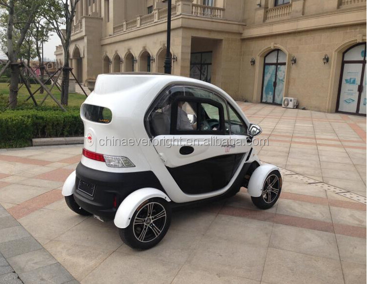 2016 hot sell smart 4wheels passengers Aluminimum wheel 2KW 72V 50AH Lead-acid battery street legal 2doors electric vehicles