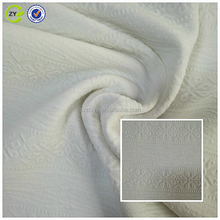 100% polyester interlock organic cotton knitted jacquard cable knit fabric sweater mens pant coat fabric for garments