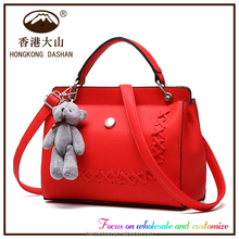 2016 Lady Handbag L145 Top Sell Branded Hand Bag Woman Bags Top Fashion High Quality PU Messenger Bag Purse and Handbag
