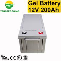 Yangtze big capacity 200ah 12v ac delco battery price